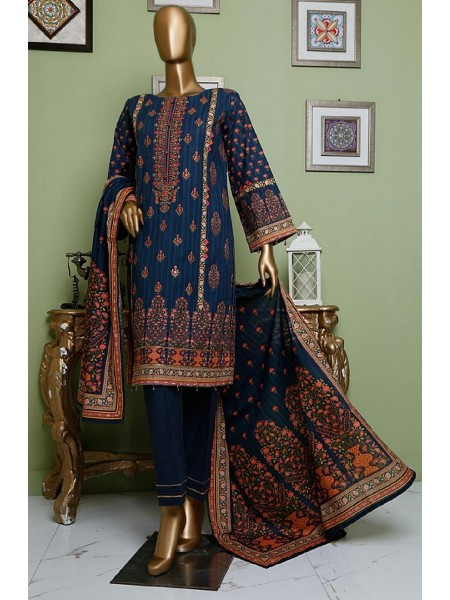 BIN SAEED Khaddar Winter Stitched Collection D-KH 1207