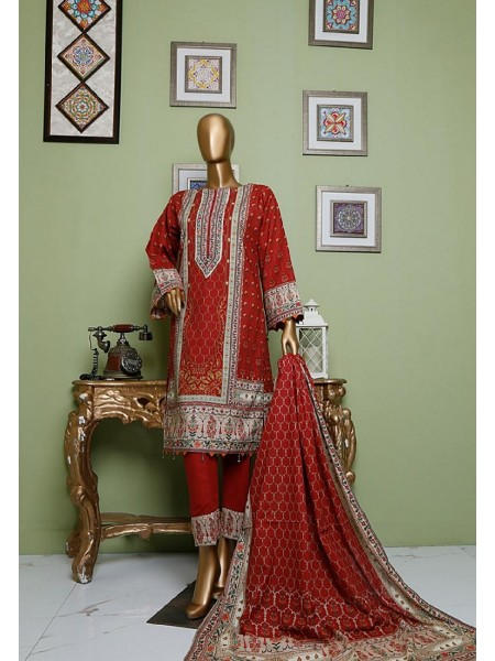 BIN SAEED Khaddar Winter Stitched Collection D-KH 1225