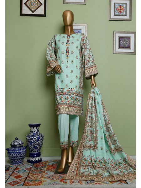 BIN SAEED Khaddar Winter Stitched Collection D-KH 1231