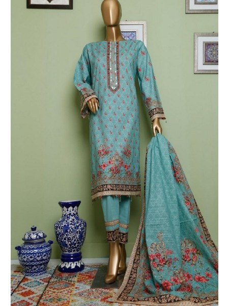 BIN SAEED Khaddar Winter Stitched Collection D-KH 1238