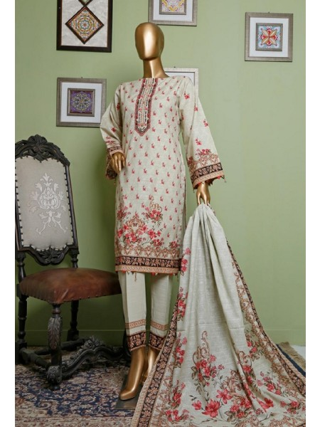 BIN SAEED Khaddar Winter Stitched Collection D-KH 1239