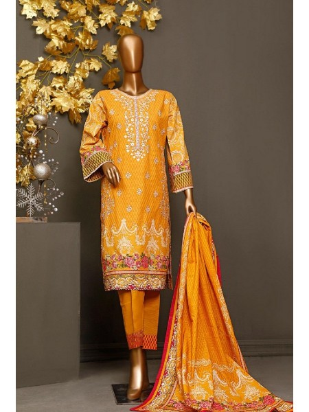 BIN SAEED Khaddar Winter Stitched Collection kh 1173