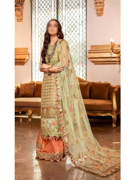 NOOR Embroidered'20 Unstitched collection D-D1