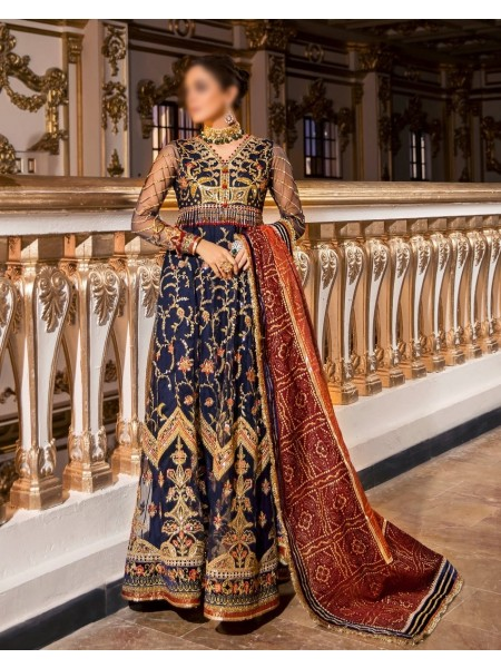 NOOR Embroidered'20 Unstitched collection D-D2