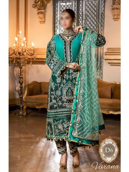 NOOR Embroidered'20 Unstitched collection D-D6