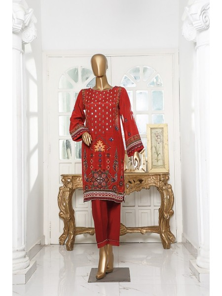 SADABAHAR Sheeshakari Stitched Silk Shirts Vol 3 D-D03