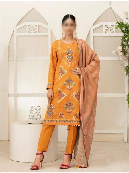 TAWAKKAL Amelie Unstitched Pashmina Shawl & Viscose Jacquard Collection D-D 9499