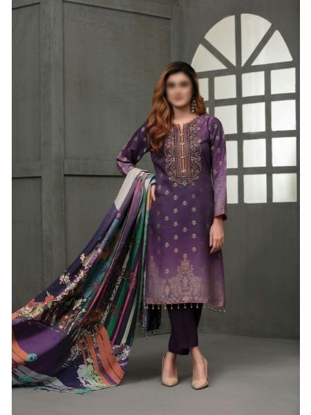 TAWAKKAL Talita Shaded Unstitched Viscose Banarsi Collection D-9554