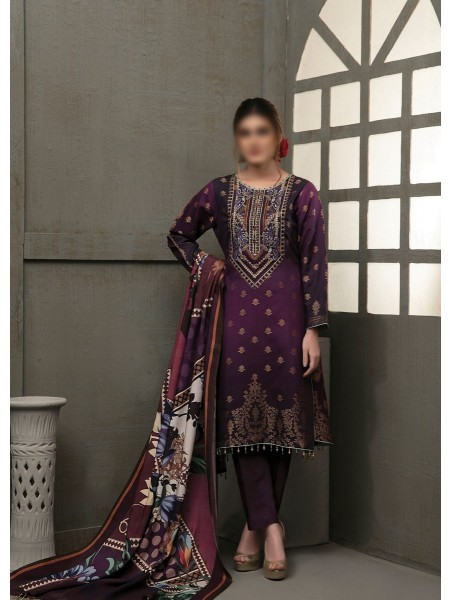 TAWAKKAL Talita Shaded Unstitched Viscose Banarsi Collection D-9555