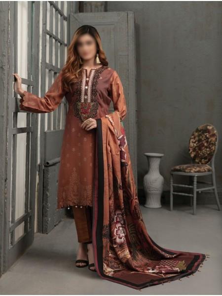 TAWAKKAL Talita Shaded Unstitched Viscose Banarsi Collection D-9556