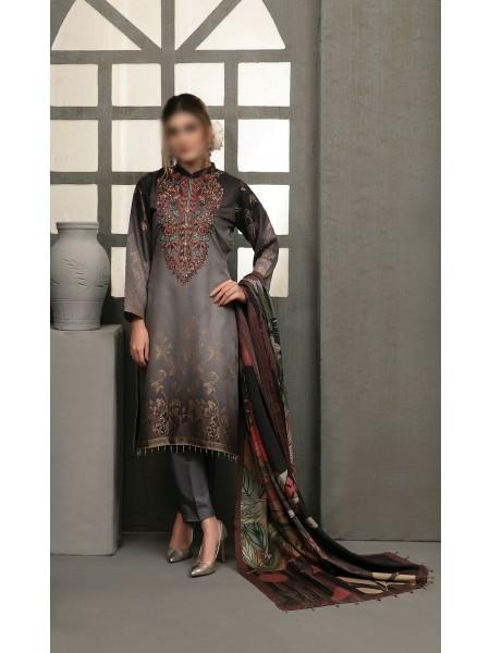 TAWAKKAL Talita Shaded Unstitched Viscose Banarsi Collection D-9563