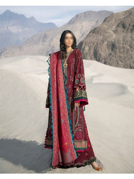 MISCELLNEOUS SHIGAR- WINTER UNSTITCHED COLLECTION'20 D-01