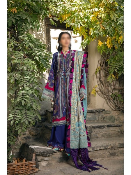 MISCELLNEOUS SHIGAR- WINTER UNSTITCHED COLLECTION'20 D-04