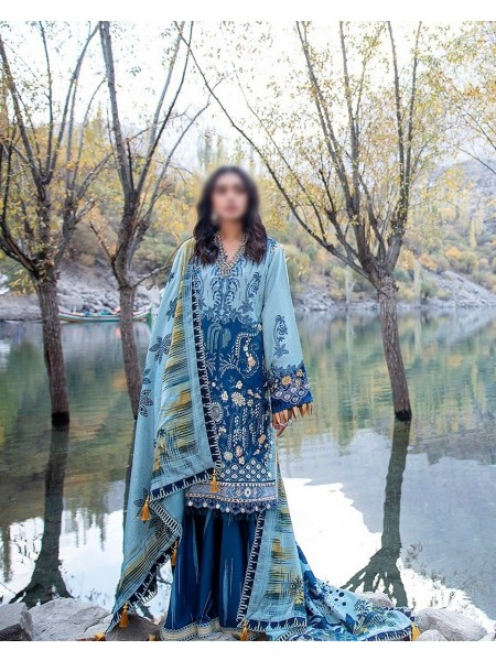 MISCELLNEOUS SHIGAR- WINTER UNSTITCHED COLLECTION'20 D-09