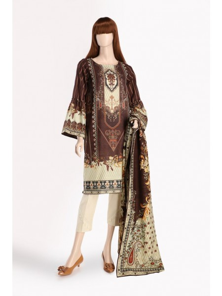 Saya Unstitched Collection AMOUR UM-2025-04A SHIRT-DUPATTA