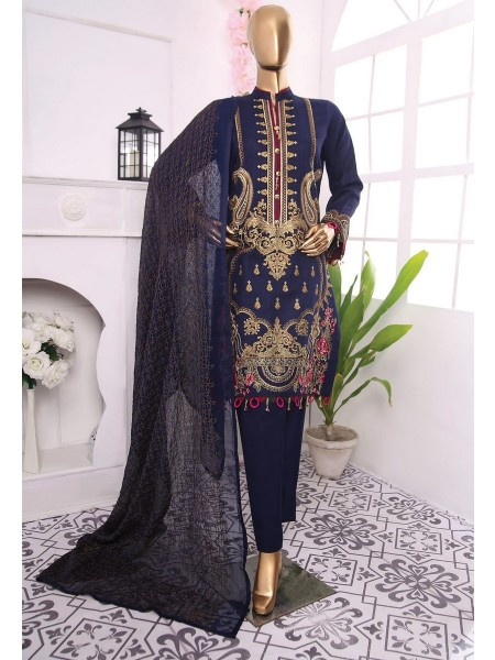 AMNA KHADIJA Anchal Unstitched Fancy Collection D-01