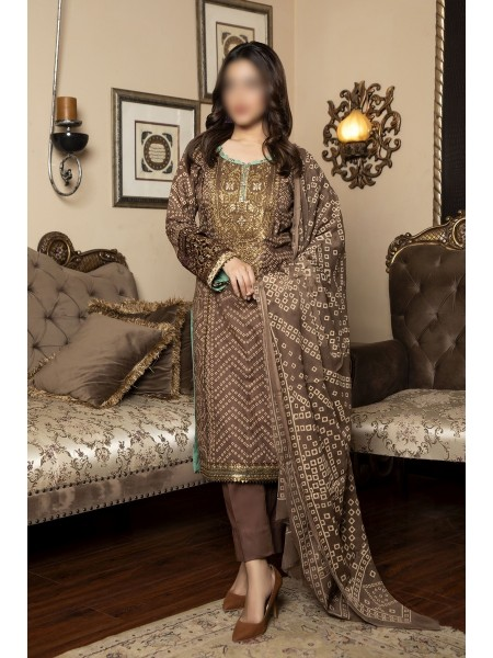 AMNA KHADIJA Qous E Qazah Signature Chundri Collection VOL-02 D-AKH 01
