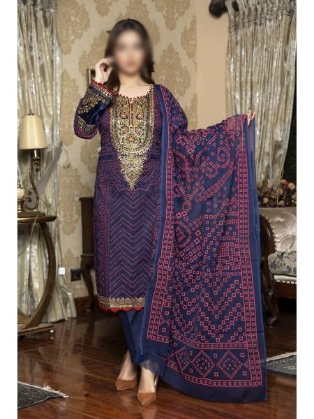 AMNA KHADIJA Qous E Qazah Signature Chundri Collection VOL-02 D-AKH 03