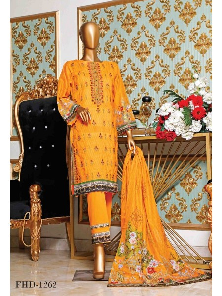 BIN SAEED Embroidered Collection'21 D-F 1262