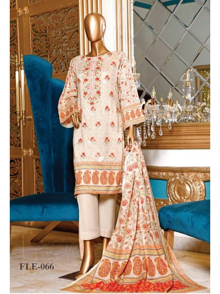 BIN SAEED Embroidered Collection'21 D-Fle 66
