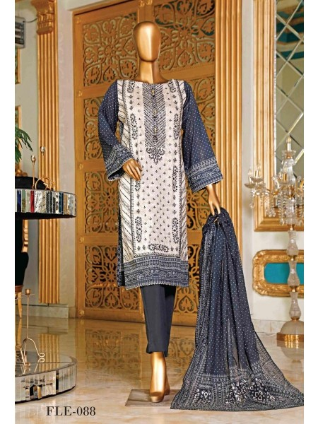 BIN SAEED Embroidered Collection'21 D-Fle 88