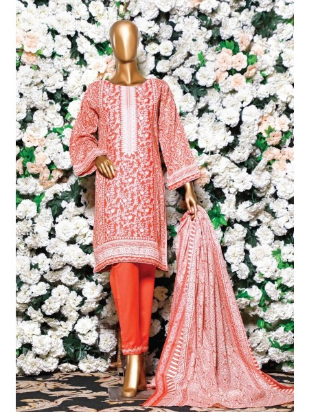 BIN SAEED Embroidered Collection'21 D-LA 542