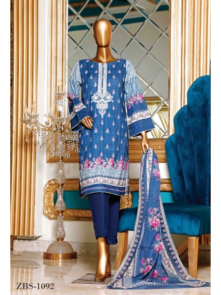 BIN SAEED Embroidered Collection21 D-C 1095
