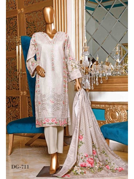BIN SAEED Embroidered Collection21 D-DG 711