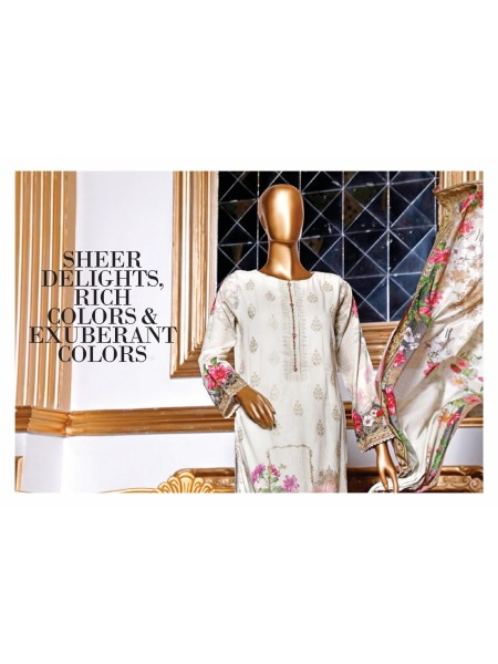 BIN SAEED Embroidered Collection21 D-DG 713