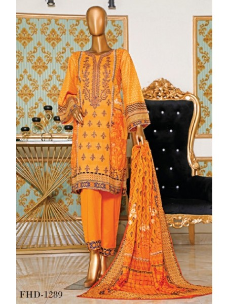 BIN SAEED Embroidered Collection21 D-FHD 1289