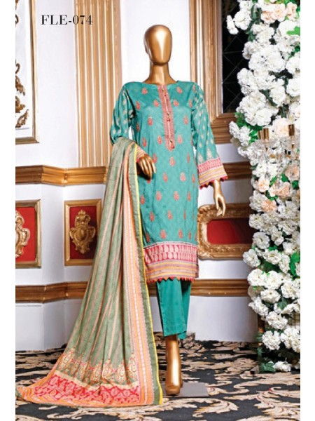 BIN SAEED Embroidered Collection21 D-FLE 074
