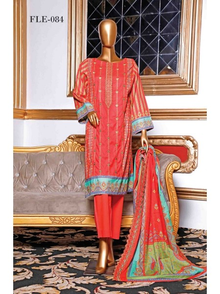 BIN SAEED Embroidered Collection21 D-FLE 084