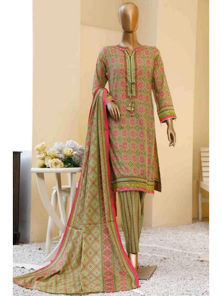 BIN SAEED Print Pret Collection Vol-03 D-03