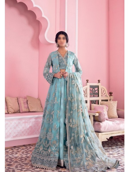 IZNIK BANARAS Unstitch Luxury Chiffon Formal Collection'21 D-06 JAL
