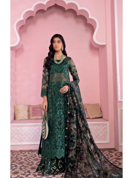 IZNIK BANARAS Unstitch Luxury Chiffon Formal Collection'21 D-09 ARAVALI