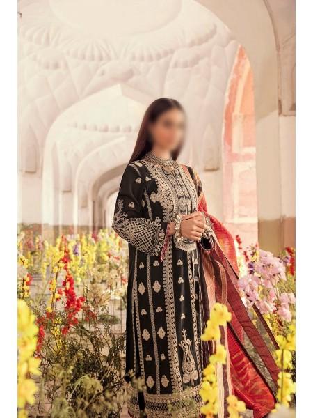QALAMKAAR Dilara Qalamkar Luxury Lawn D-HL 01