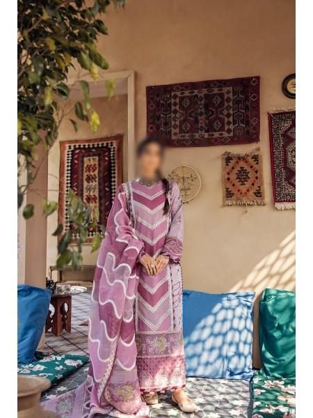 QALAMKAAR Dilara Qalamkar Luxury Lawn D-HL 15
