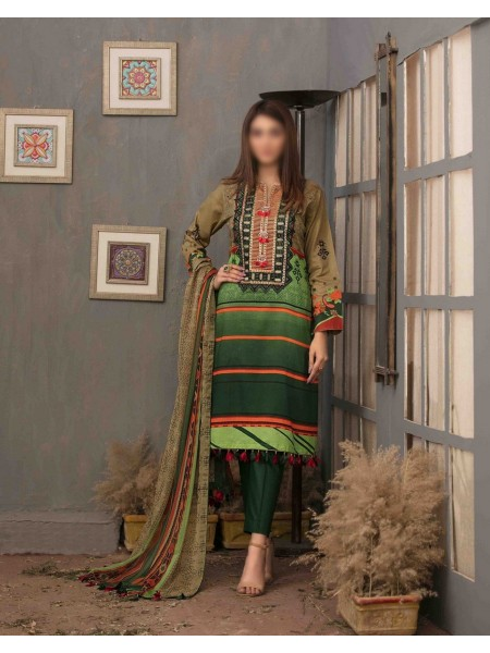 TAWAKKAL FABRICS Divine Embrace Embroidered Printed Lawn Collection D-D 1110