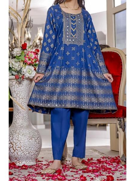 AMNA KHADIJA Nornag Unstitched Banarsi Jacquard 2 Pcs Collection D-02