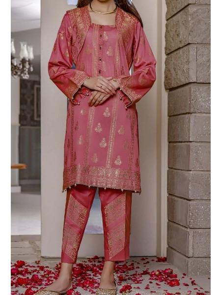 AMNA KHADIJA Nornag Unstitched Banarsi Jacquard 2 Pcs Collection D-03