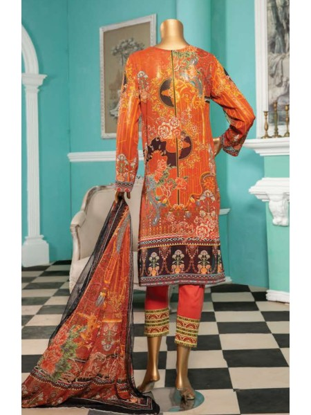 Aqsa Unstitched Swiss Printed and Embroidered Collection D-DE 02