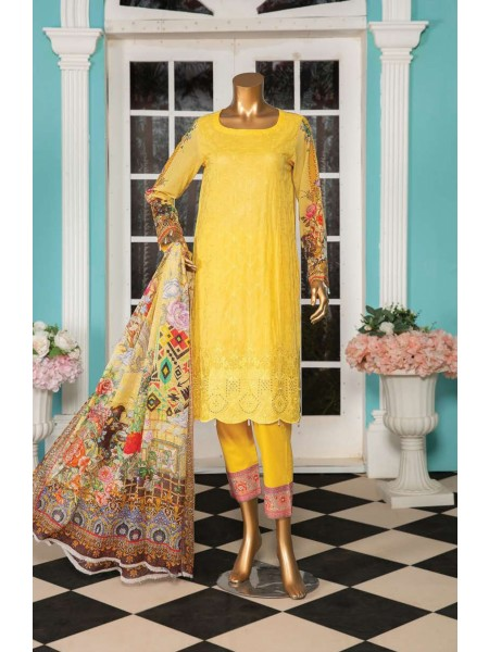 Aqsa Unstitched Swiss Printed and Embroidered Collection D-DE 06
