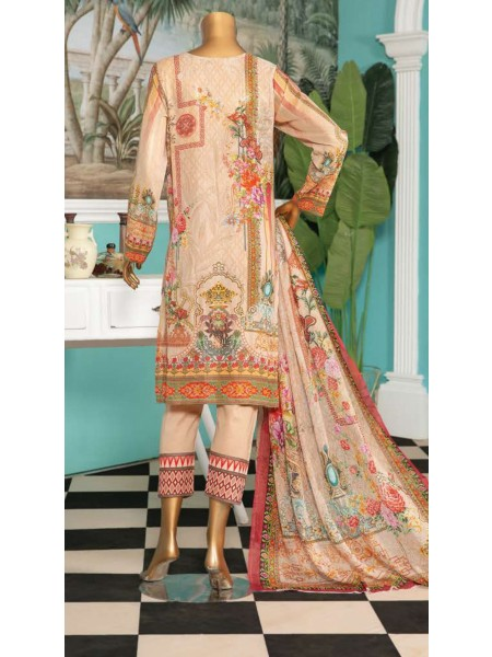 Aqsa Unstitched Swiss Printed and Embroidered Collection D-DE 09