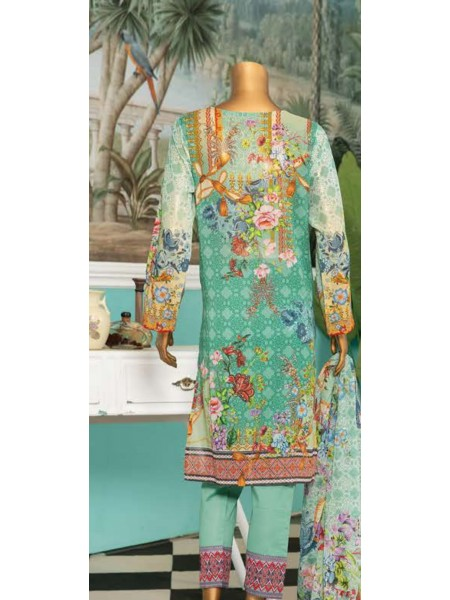 Aqsa Unstitched Swiss Printed and Embroidered Collection D-DE 12