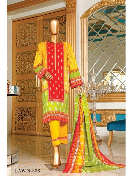 BIN SAEED Embroidered Collection'21 Vol-04 D-6LA 538