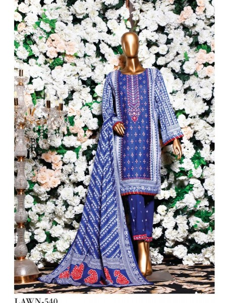 BIN SAEED Embroidered Collection'21 Vol-04 D-6LA 540