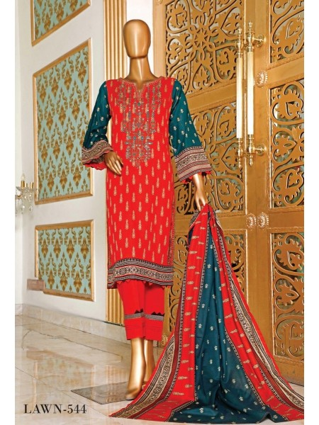 BIN SAEED Embroidered Collection'21 Vol-04 D-6LA 544