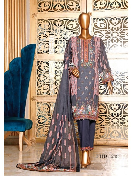 BIN SAEED Embroidered Collection'21 Vol-04 D-FHD 1247