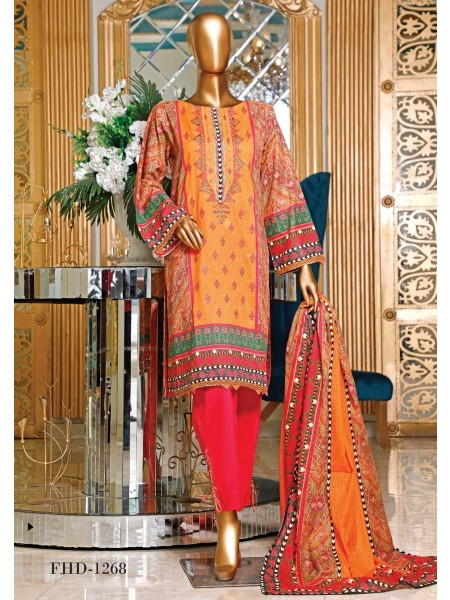 BIN SAEED Embroidered Collection'21 Vol-04 D-FHD 1268