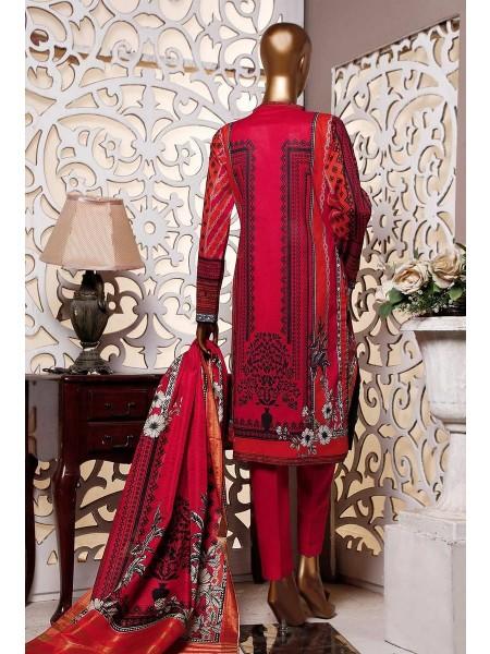 HZ Textile Premium Embroidered Tassel silk Dupatta Collection D-PE-22 - REDISH PINK
